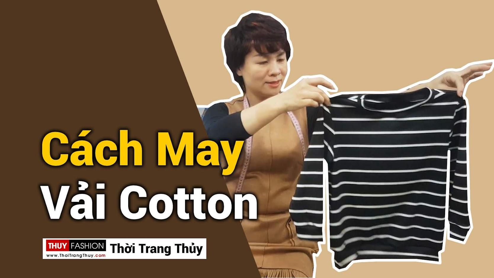 Video Hướng dẫn cách may áo thun nữ vải cotton thời trang thủy ở hải phòng
