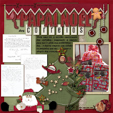 Photo: Cozy Christmas by ValC and Pink Reptile Designs Font Forte PS CS5