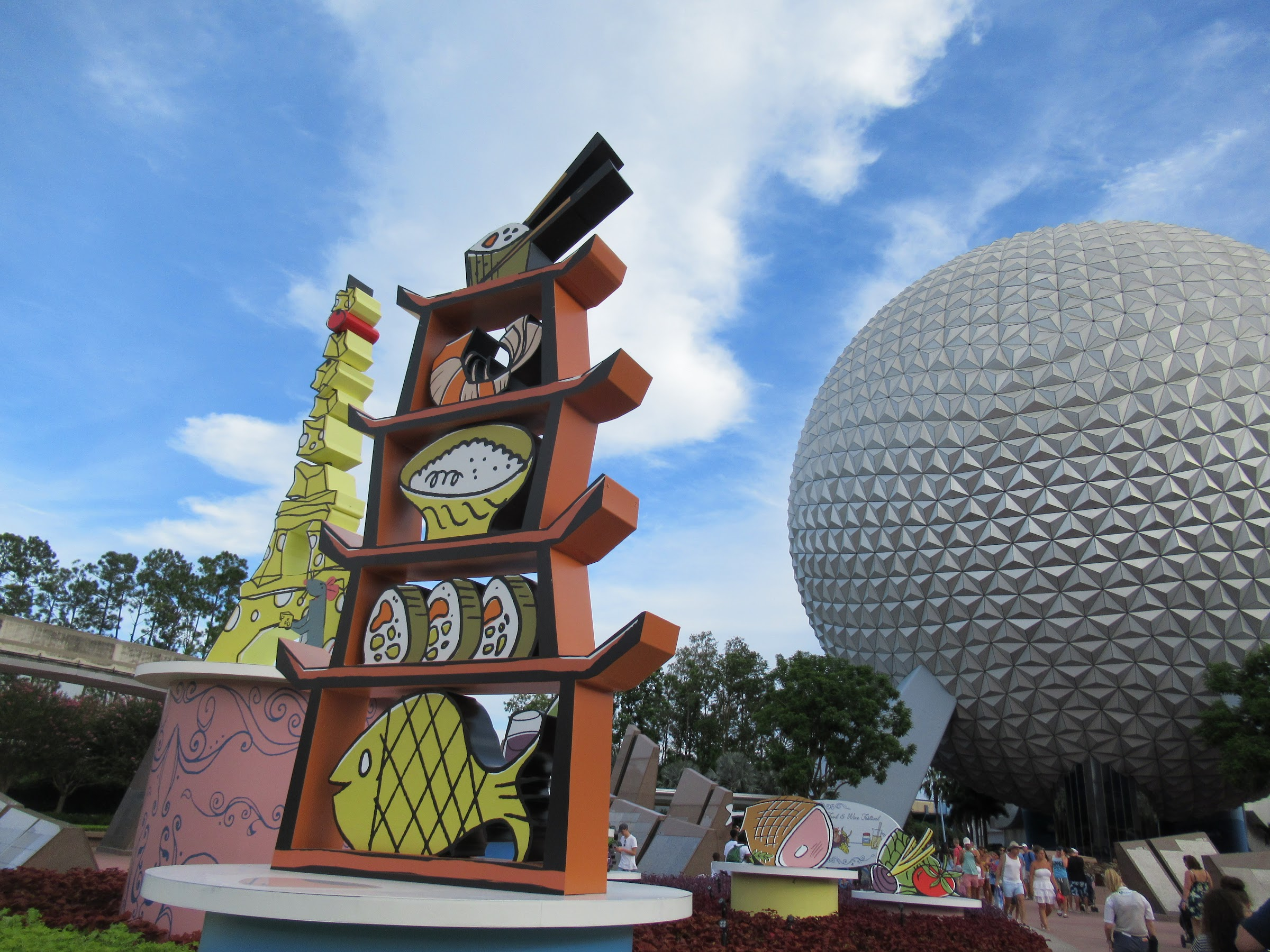 Epcot's International Food and Wine Festival at Walt Disney World