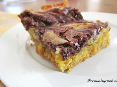 Marble Gooey Butter Cake Recipe
