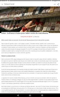 Les Echos - Actualités- screenshot thumbnail