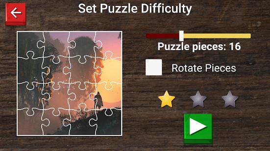 Digital painting jigsaw puzzle - náhled