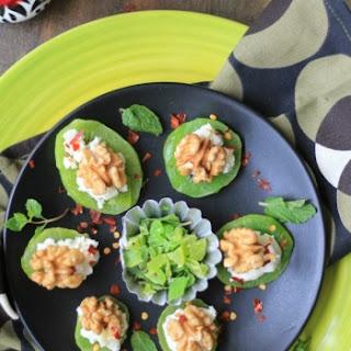 Nutty Kiwi Discs With Greek Yogurt.