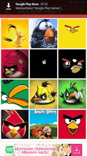 Art Angry Bird Wallpaper HD offline