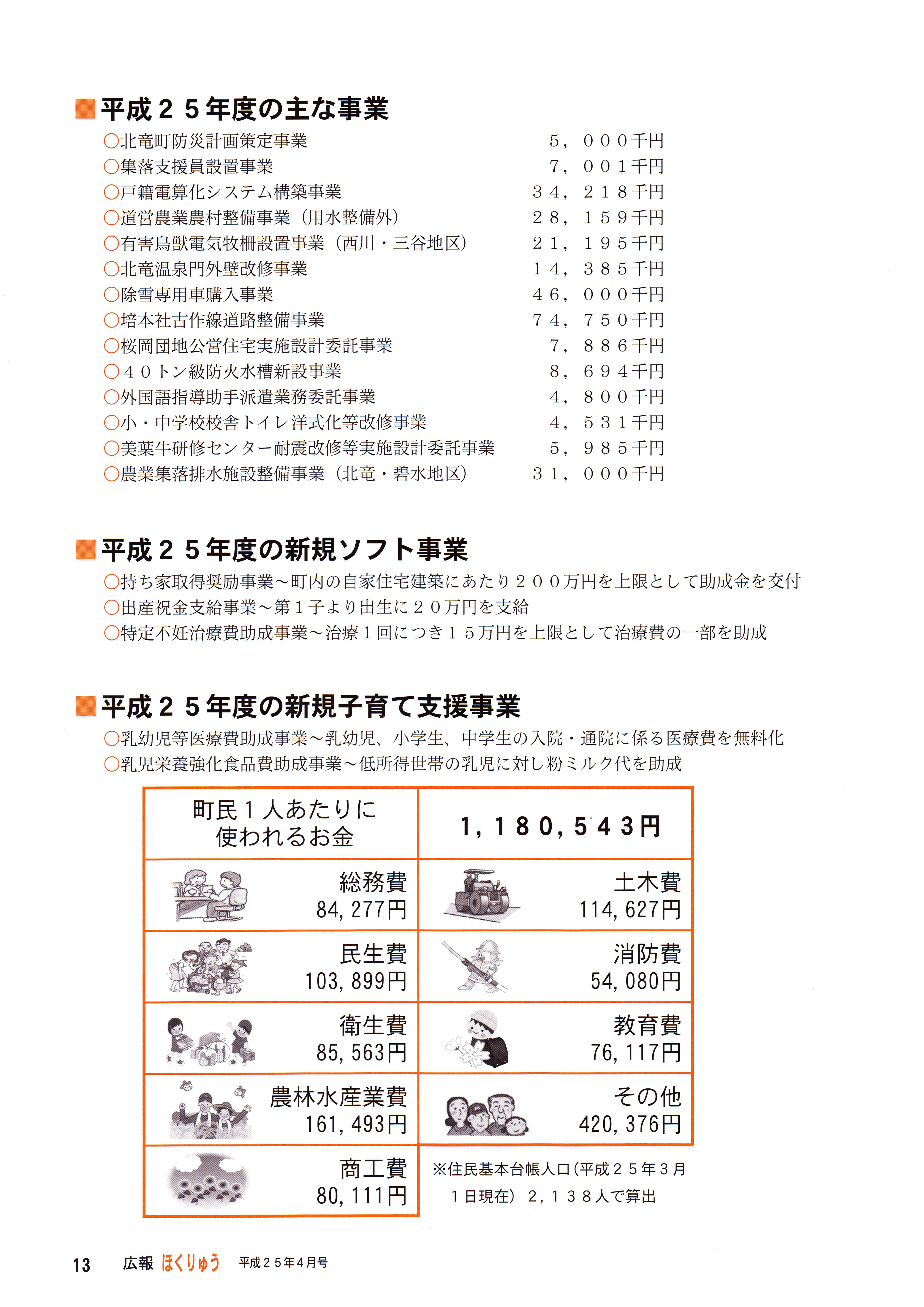 Photo: 平成25年度行政執行方針