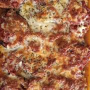 Eggplant Parmesan (Serves 2)