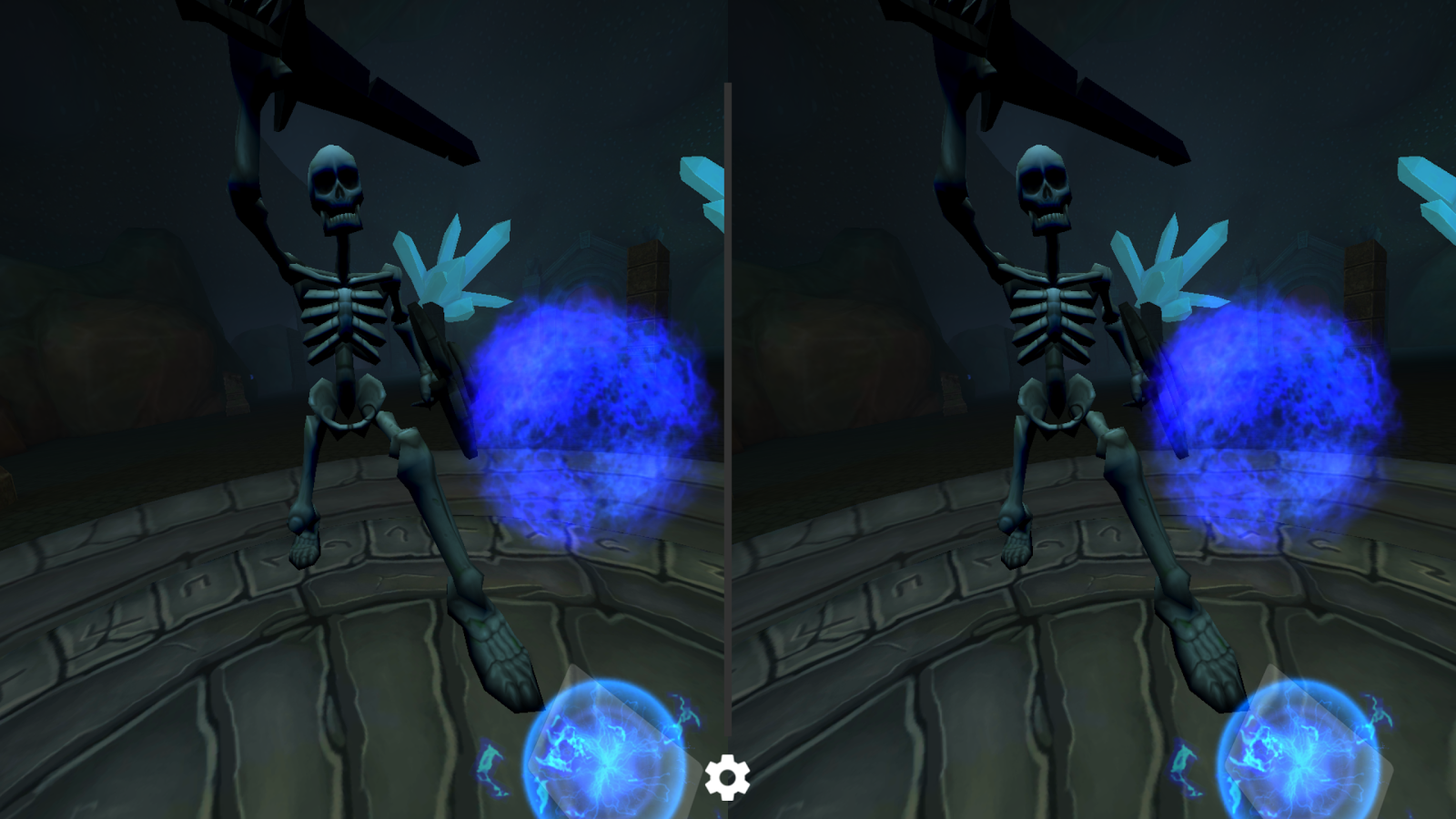 VR Mage Survival- screenshot