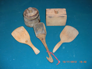 Photo: BUTTER MOLDS & PADDLES