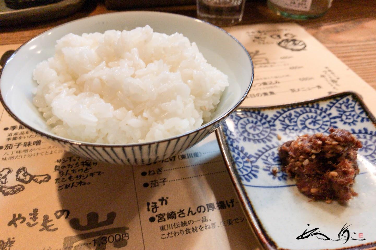 ご飯:東川産ほしのゆめ、ゆめぴりか