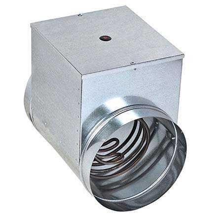 Электрический канальный нагреватель Ф200/4,5 кВт для круглого воздуховода -  Вентиляция Тут.Ру — ⚡ магазин вентиляции от А до Я