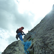 Fotos da escalada do Espolón Picapiedra no Pico de la Renclusa, Val de Benás, parque de Posets – Maladeta (Pireneos), 3 de xullo de 2021