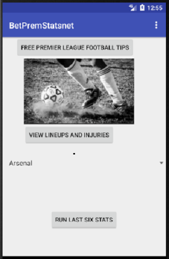 English Premier Football Tips App 54.85 screenshots 1