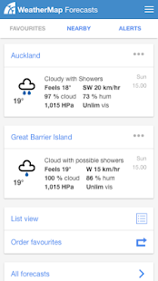 WeatherMap- screenshot thumbnail