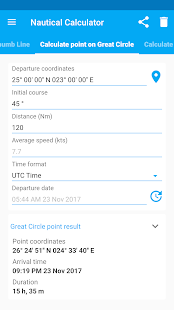 Nautical Calculator - náhled