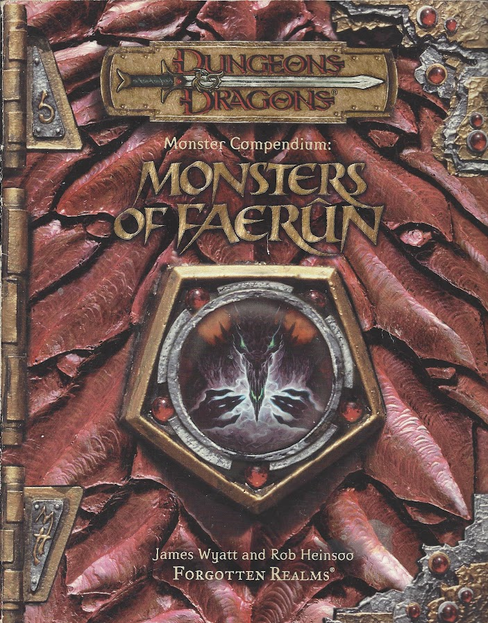 Monsters of Faerûn cover