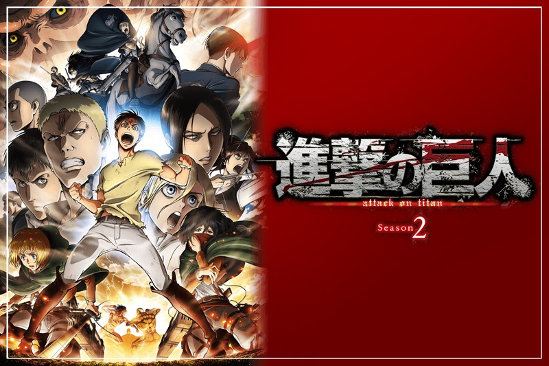 [Anime] ผ่าพิภพไททัน ซีซั่น 2 ปล่อยภาพคีย์วิชชวล…!!