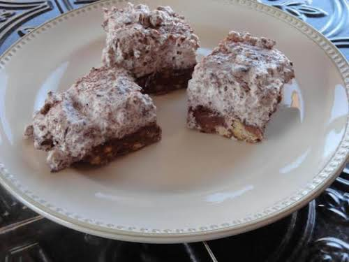 "Girl Scout Cookie Crunch Bars ""What a great way to reinvent Girl Scout..."