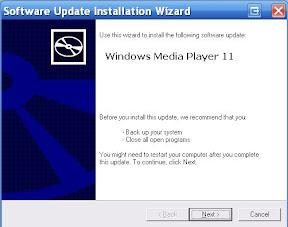 Validating windows media player 11 crack