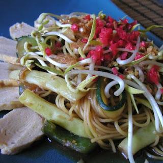 Vegetarian Yakisoba.