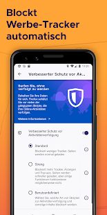 Firefox Browser: schnell, privat & sicher Screenshot