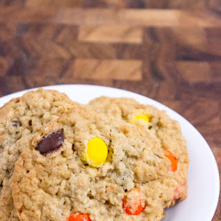 Oatmeal Reese's Peanut Butter Cookies