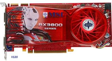 AMD (ATI) Radeon 3870 X2 (3870X2) with DDR4 and water cooling photo image