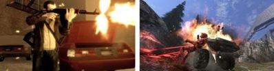 GTA IV and Halo 3 screenshot