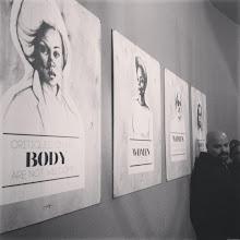 Photo: 4.12.13 Tatyana Fazlalizadeh's art exhibit in New York!