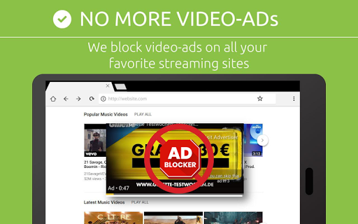 Free Adblocker Browser - Adblock & Popup Blocker 64.0.2016123109 screenshots 11