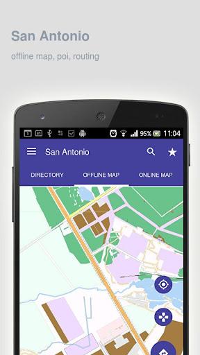 San Antonio Map offline  screenshots 1