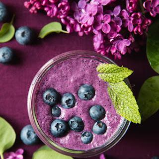 Blueberry Beet Smoothie.