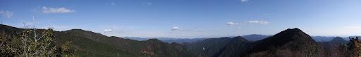 亀岩からパノラマ(北側)