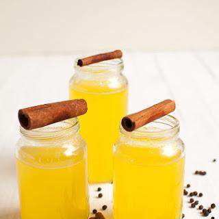 Turmeric Ginger Tea with Lemon