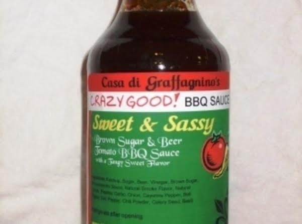 Sweet & Sassy Is A Sweet And Slightly Tangy Bbq Sauce With A Delicious Bold Flavor.