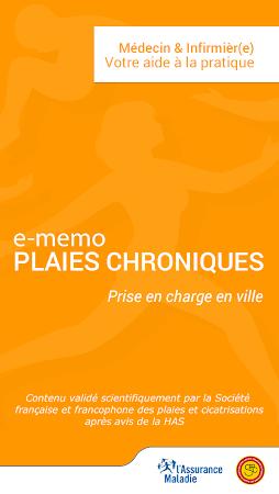 e-mémo plaies chroniques 0.0.2 screenshot 1316213