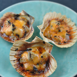 Easy Spicy Scallops