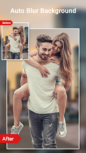 Download Auto background blur - DSLR Portrait image effect For PC Windows and Mac apk screenshot 1