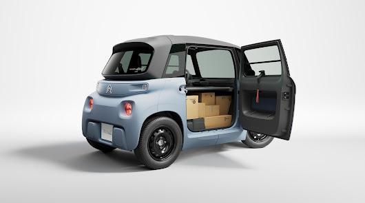 Pasate por Ejido Motor y conoce el Citroën My AMI Cargo