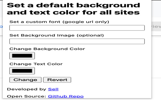 CSS Browser Modification