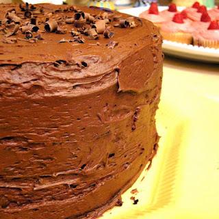 Hot Chocolate Layer Cake.