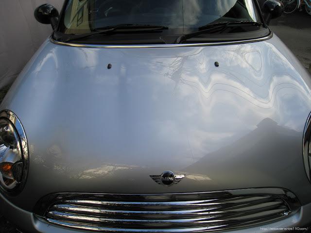 BMW ミニクーパー 07y 神奈川県 会員様 洗車達人PRO実践報告