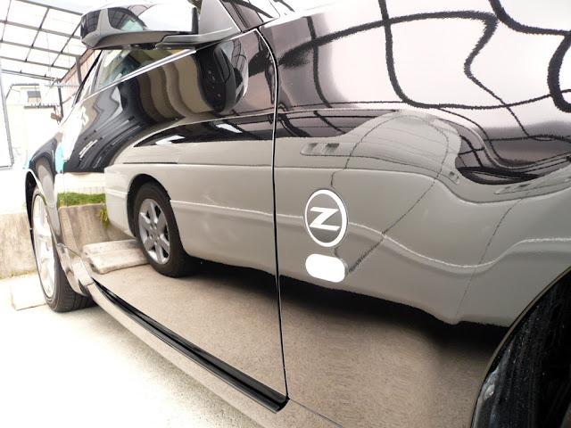 日産フェアレディーZ 07y 静岡県 会員様 洗車達人PRO実践報告