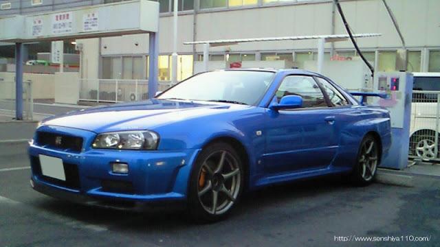 日産スカイライン GT−R 兵庫県 会員様 洗車達人PRO実践報告
