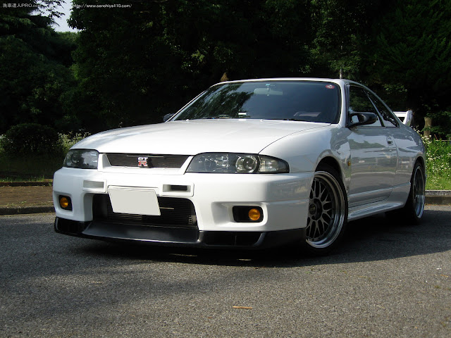 日産 スカイライン GT-R R33 洗車達人PRO.com 実践報告 千葉県