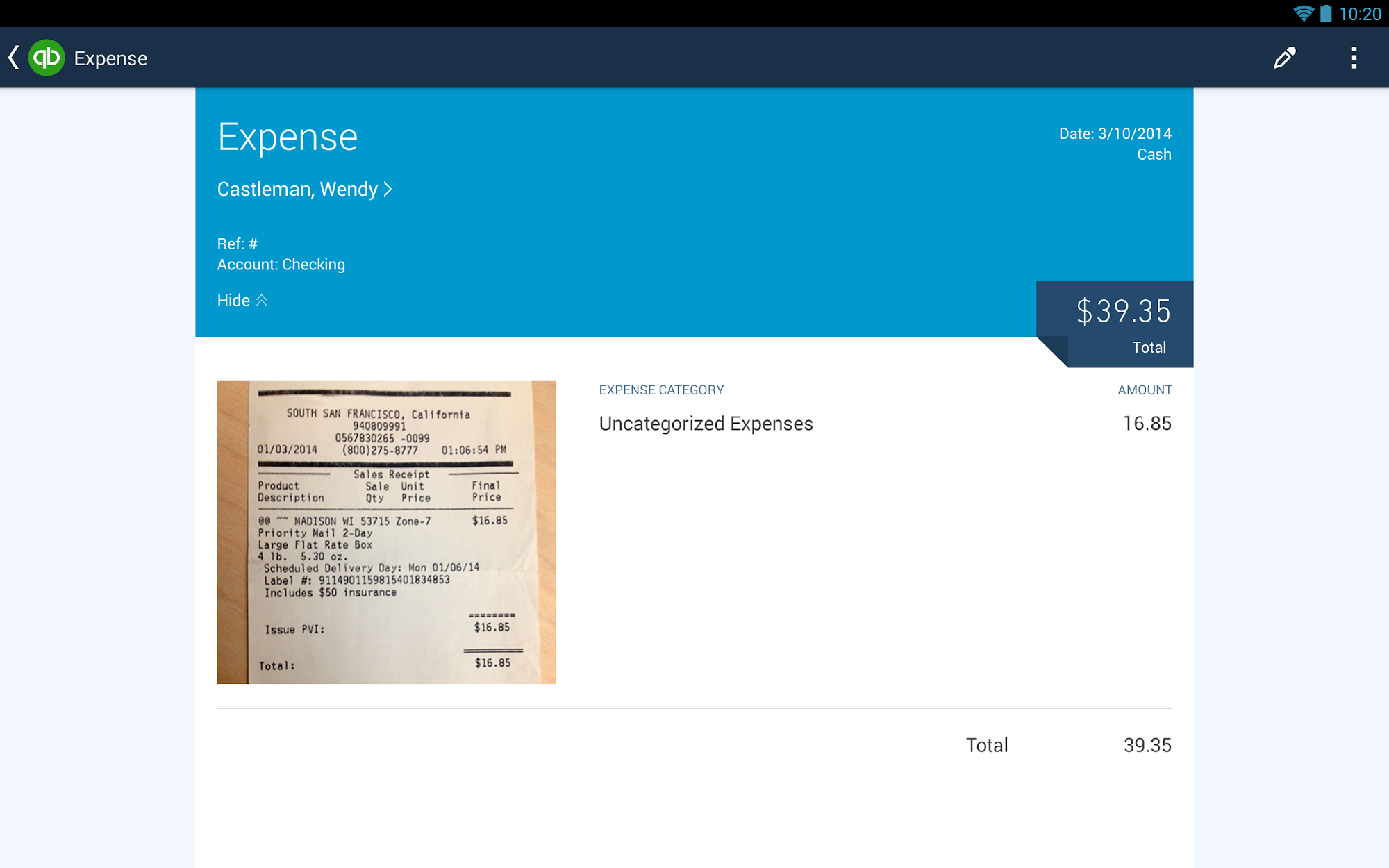 QuickBooks Accounting+Invoice screenshot #12