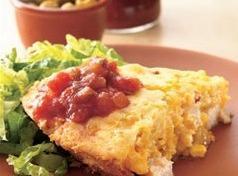 Chicken Tamale Pie Recipe