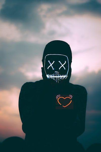 Led Purge Mask Wallpaper HD Apk 1