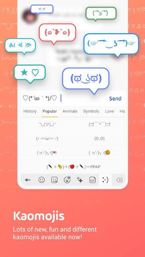 Facemoji Emoji Keyboard:DIY, Emoji, Keyboard Theme  screenshots 4