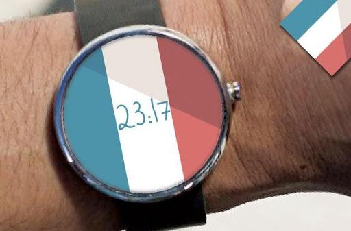 Drapeau Français Watch Face