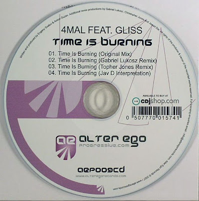 4Mal / Gliss / Time Is Burning / CDS